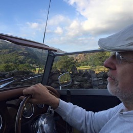Trevor Cooper visiting churches in Wales